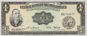 Philippinen / Philippines P.133f 1 Peso (1949) (1)