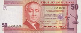Philippinen / Philippines P.171b 50 Piso (1987) (1)