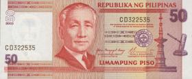 Philippinen / Philippines P.193a 50 Piso 2003 (1)