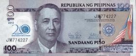 Philippinen / Philippines P.218 100 Piso 2013 Kaunlaran (1)