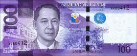 Philippinen / Philippines P.208c 100 Piso 2015 (1)