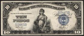 Philippinen / Philippines P.017 10 Pesos 1928 (1)