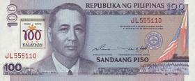Philippinen / Philippines P.188 100 Piso 1998 (1)