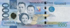 Philippinen / Philippines P.211b 1000 Piso 2016 (1)