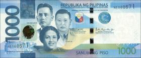 Philippinen / Philippines P.211c 1000 Piso 2017 (1)
