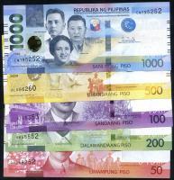 Philippinen / Philippines P.224 -228 50 - 1000 Piso 2020 (1)