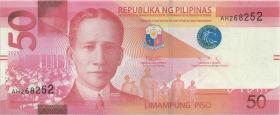 Philippinen / Philippines P.224 50 Piso 2020 (1)