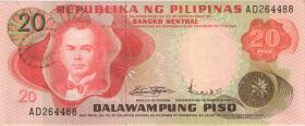 Philippinen / Philippines P.150a 20 Piso (1)