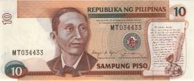 Philippinen / Philippines P.169b 10 Piso (1)