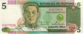 Philippinen / Philippines P.168d 5 Piso (1)