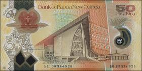 Papua-Neuguinea / Papua New Guinea P.32 50 Kina (2008) (1)