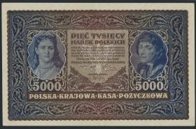Polen / Poland P.031 5000 Marek 1920 (2)