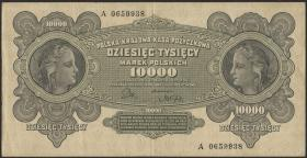 Polen / Poland P.032 10000 Marek 1922 (3)