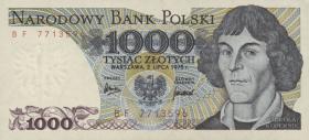 Polen / Poland P.146a 1000 Zlotych 1975 Kopernikus (1)