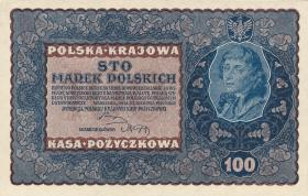 Polen / Poland P.027 100 Marek 1919 (1-)