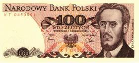 Polen / Poland P.143d 100 Zlotych 1982 (1)