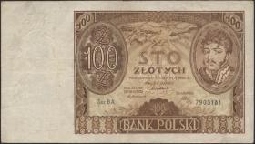 Polen / Poland P.074 100 Zlotych 1932 (3)