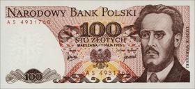 Polen / Poland P.143b 100 Zlotych 1976 (1)