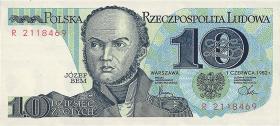 Polen / Poland P.148 10 Zlotych 1982 (1)