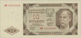 Polen / Poland P.136 10 Zlotych 1948 (1)