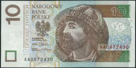 Polen / Poland P.183 10 Zlotych 2012 (2014) (1)