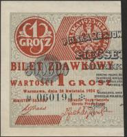 Polen / Poland P.042a 1 Grosz 1924 (1)