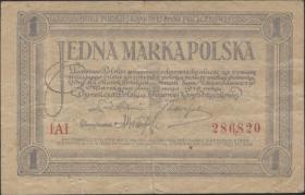 Polen / Poland P.019 1 Marek 1919 (3)