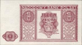 Polen / Poland P.123 1 Zloty 1946 (1)