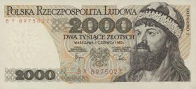 Polen / Poland P.147c 2000 Zlotych 1982 Mieszko (1)