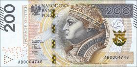 Polen / Poland P.189 200 Zlotych 2015 (1)