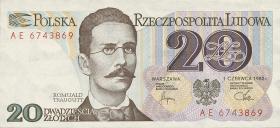 Polen / Poland P.149 20 Zlotych 1982 (1)
