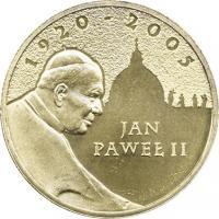 Polen 2 Zlote 2005 Papst Johannes Paul II.