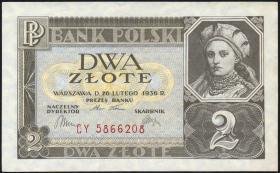 Polen / Poland P.076 2 Zlote 1936 (1/1-)
