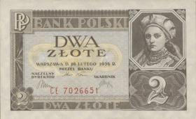Polen / Poland P.076 2 Zlote 1936 (1)