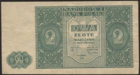 Polen / Poland P.124 2 Zlotych 1946 (3)