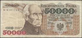 Polen / Poland P.159a 50000 Zlotych 1993 (3)