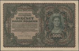 Polen / Poland P.028 500 Marek 1919 (3+)