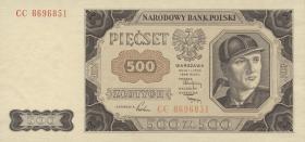 Polen / Poland P.140 500 Zlotych 1948 (1)