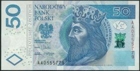Polen / Poland P.185a 50 Zlotych 2012 (2014) (1)