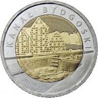 Polen 5 Zlotych 2015 Bromberger Kanal