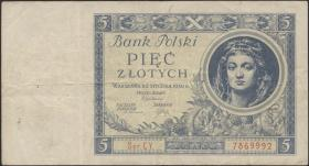 Polen / Poland P.072 5 Zlotych 1930 (3)