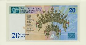 Polen / Poland P.neu 20 Zlotych 10.5.2017 Gedenkausgabe im Folder (1)