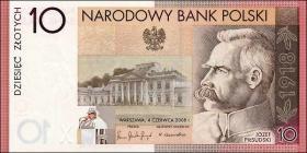 Polen / Poland P.179 10 Zlotych 2008 Gedenkbanknote (1)