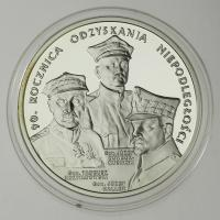Polen / Poland 20 Zloty 2008 90. Jahrestag der Unabhängigkeit