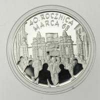Polen / Poland 10 Zloty 2008 40. Jahrestag der Märzunruhen in Polen