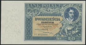 Polen / Poland P.073 20 Zlotych 1931 (2)