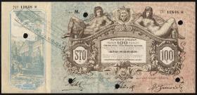 Polen / Poland 100 Koron 1915 Lwow (2)