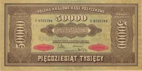 Polen / Poland P.033 50000 Marek 1922 (2)