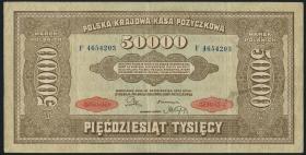 Polen / Poland P.033 50.000 Marek 1922 (3)