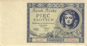 Polen / Poland P.072 5 Zlotych 1930 (2)